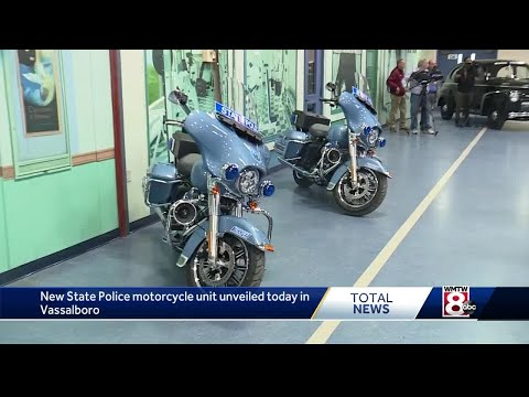 Maine State Police Unveil New Motorcycle Unit