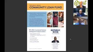 Access 2 Capital: Republic Bank announces its Community Loan Fund with Pedro Bryant and Kenneth Webb