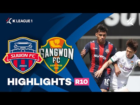 Suwon City Gangwon Goals And Highlights