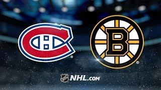 Rask, Bruins blank Canadiens, 4-0