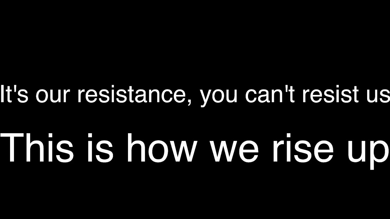 Skillet - The Resistance SOLI Remix (Lyrics)