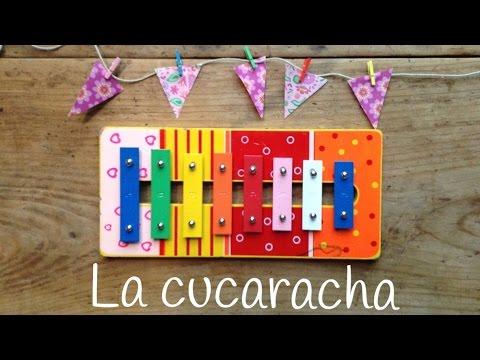 Canciones con xilófono para niños, ¡La Cucaracha os va a hacer bailar sin parar!