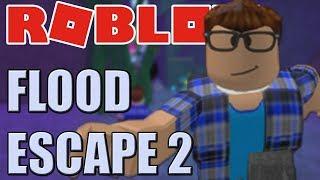 I ' m terrível em Roblox Flood escape 2