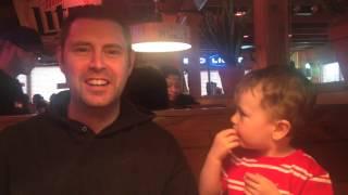 Feeding Dad's Ear Funny Ending !!!