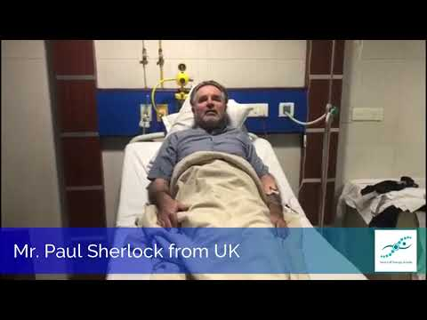 Mr. Reginald Paul Sherlock From UK About His Stem Cell Therapy For Ischemic Optic Nerve Atrophy