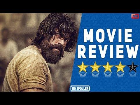 KGF Movie Review  Yash  Srinidhi