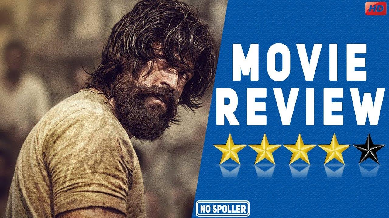 Kgf Movie Review Yash Srinidhi Youtube