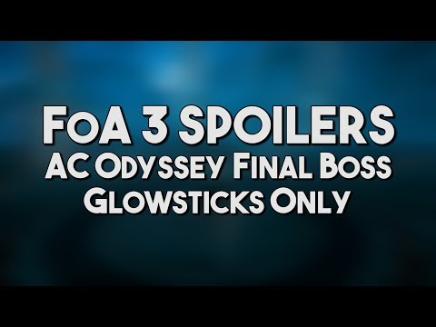 [AC Odyssey] Final Boss | Glowsticks Only, No Damage (CONTAGIOUS LAUGHTER)
