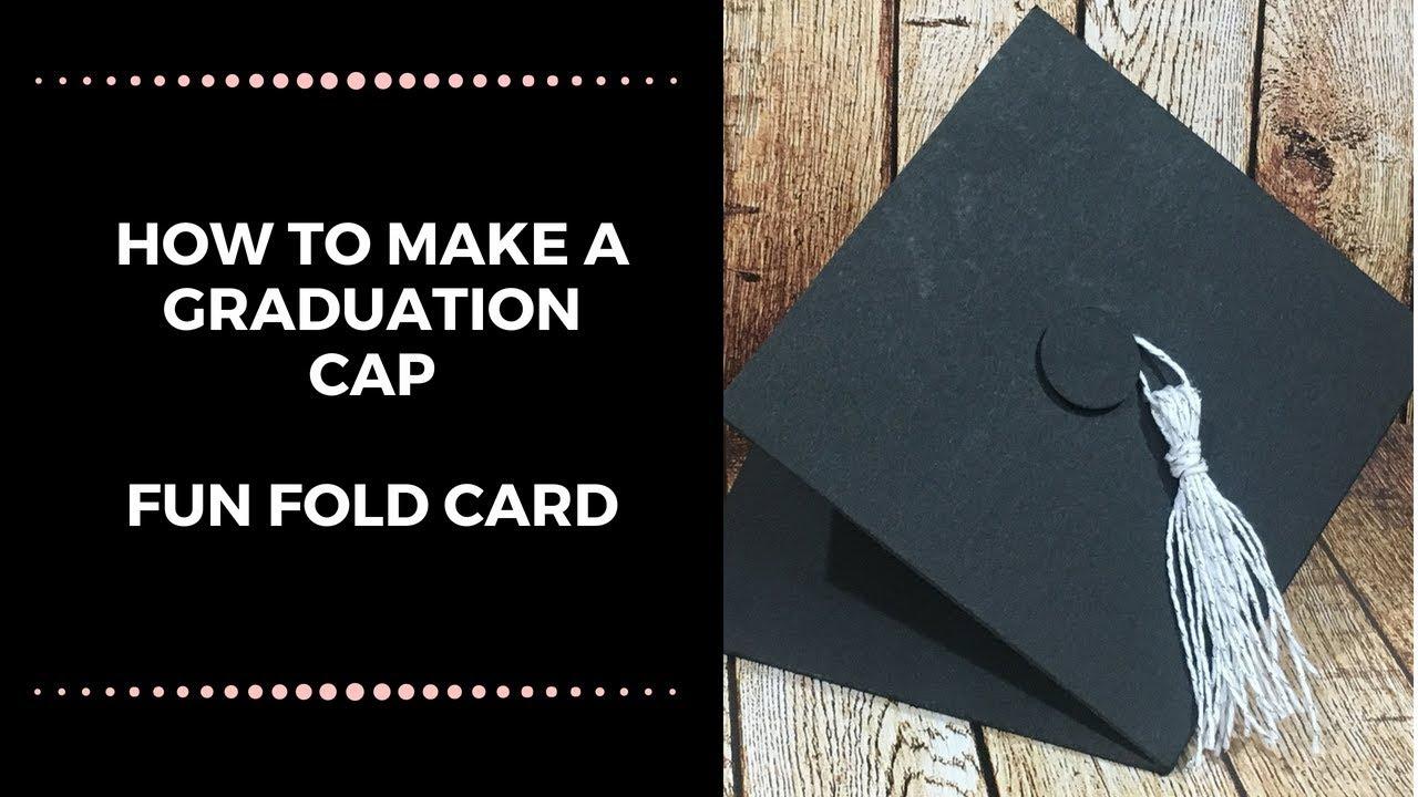 Graduation Cap Fun Fold Card Idea Lynn Dunn