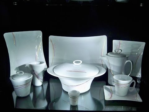 Zarin Porcelain Production Process