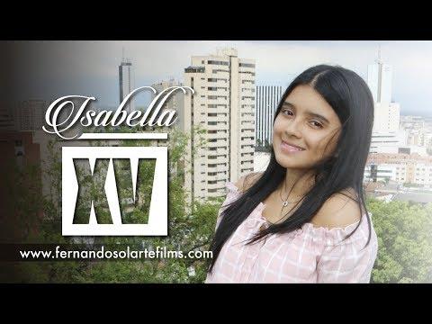 XV Años Isa Cardona Trailer