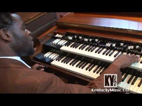 Chris Johnson On Hammond B3 Organ - Gospel Music