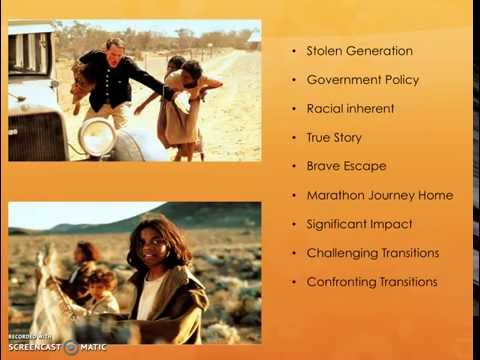 Module C: Text And Society - Exploring Transitions - ORT Rabbit Proof Fence