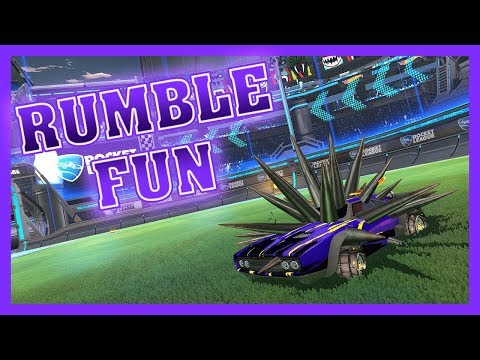 LES ABRUTIS DU CH'NORD EN RUMBLE - Rocket League FUN thumbnail