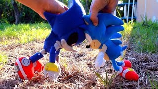 Sonic Plush: Sonic vs Metal Sonic