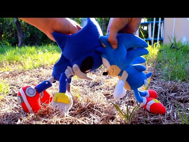 Sonic Plush: Sonic vs Metal Sonic