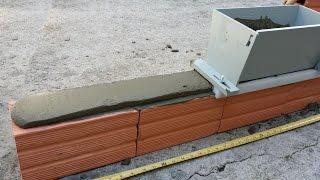 Como assentar tijolos com gabarito deslizador de massa ou aplicador de argamassa ArgaFast. thumbnail