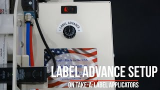 Setting the Label Advance