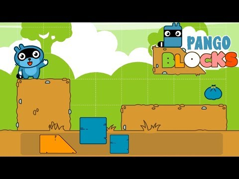 Pango Blocks Game Review #1 - Great Puzzles For Kids.