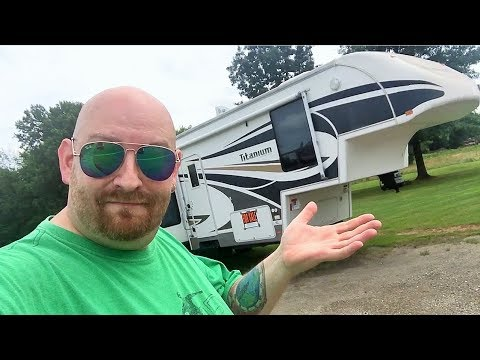 Titanium Glendale RV 5th Wheel Mobile Home Camper Trailer