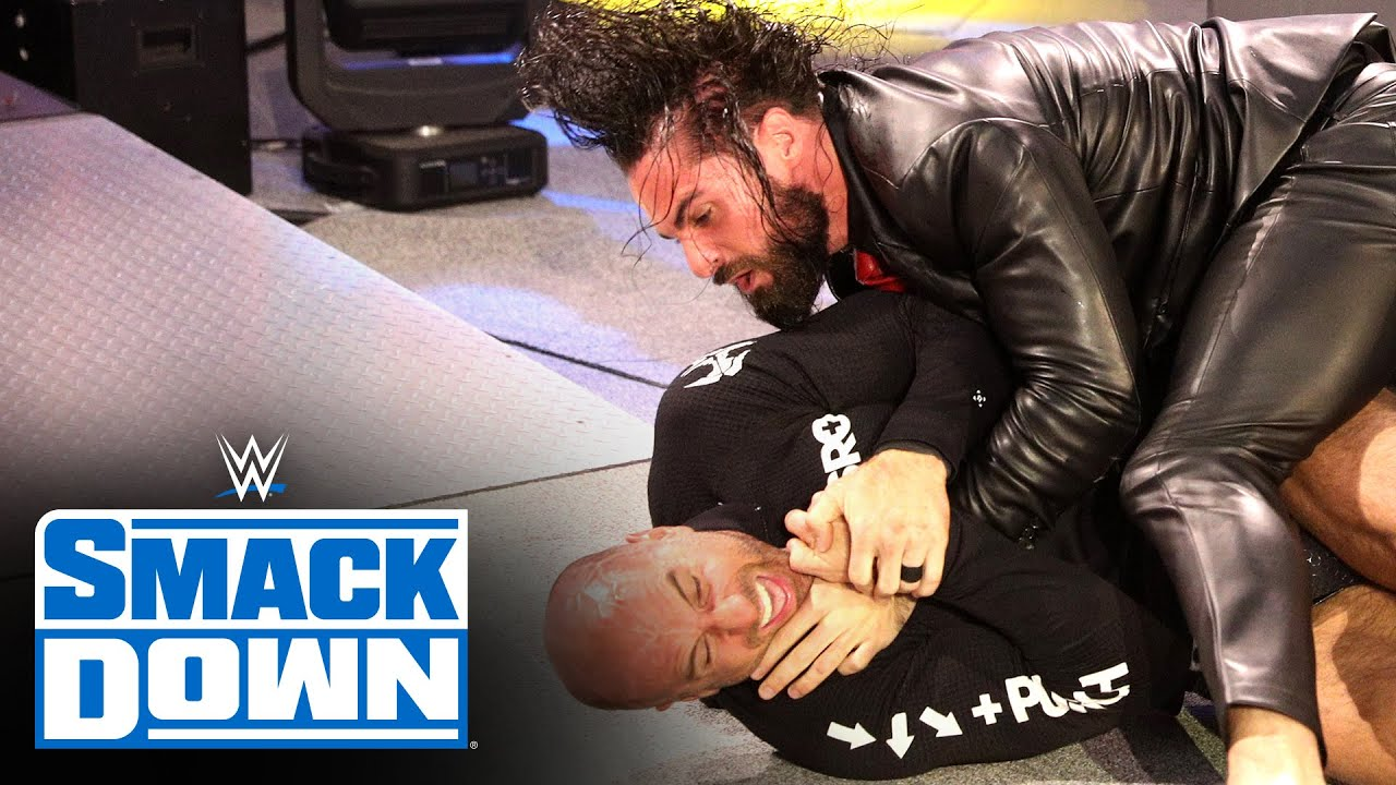 Seth Rollins returns to SmackDown with a brutal assault on Cesaro: SmackDown, Feb. 12, 2021