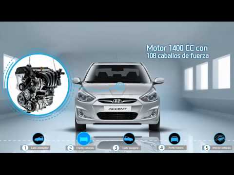 Hyundai Costa Rica Vendedor Virtual Accent Blue Sedan Youtube