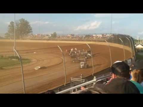 World of Outlaws Heat 2 Lawrenceburg Speedway