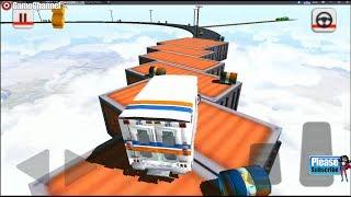 Impossible Ambulance Stunt Simulator / Ambulance Driver / Android Gameplay Video