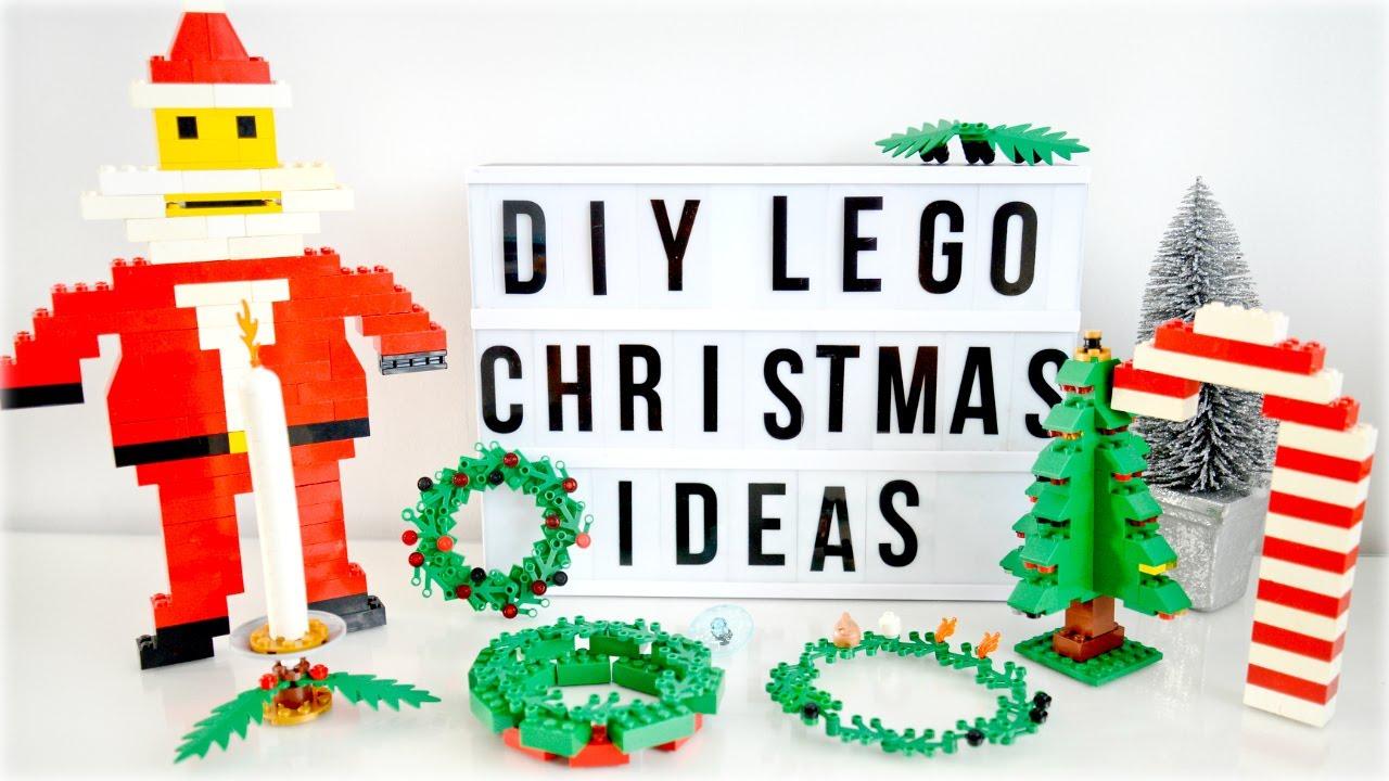 Lego Christmas Ornaments.Diy Lego Christmas Ornaments Decorations Alex Gladwin