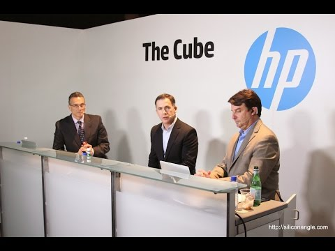 theCUBE Live @ HP Discover Barcelona Day 1