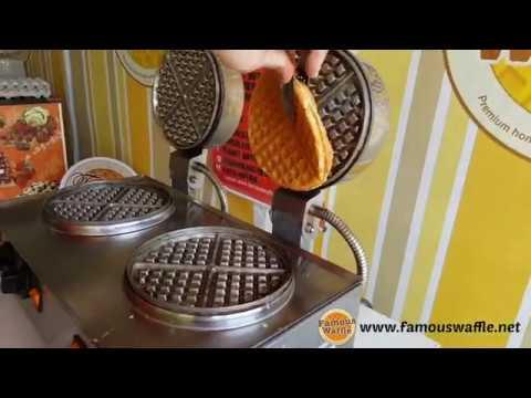 [FAMOUS WAFFLE] Pakej Waffle Terbaru