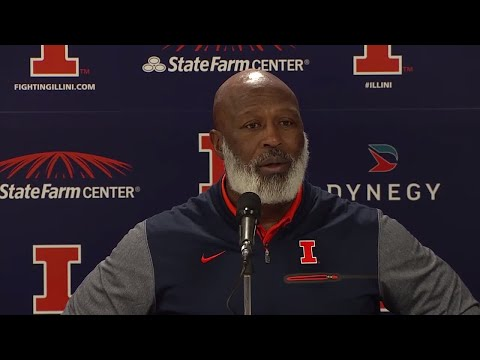 Lovie Smith Spring Ball Wrap-Up Press Conference 4/11/18