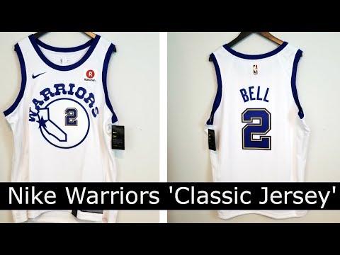 'Classic Edition' Nike NBA Swingman Warriors Jersey Rookie Jordan Bell ナイキウォリアーズユニフォーム ジョーダン・ベル