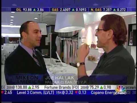 Mike Hegedus Interview with Joe Hallak of Hallak Cleaners in Manhattan