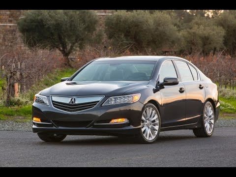 2015 Acura RLX Start Up And Review 3.5 L V6