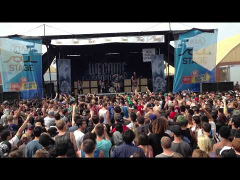We Came As Romans - Tracing Back Roots - Warped Tour 2013