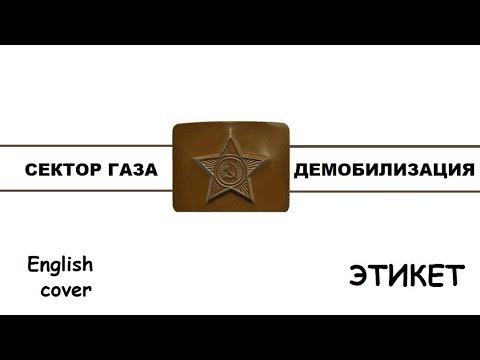 Сектор Газа - Демобилизация (кавер на английском языке)