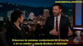 Entrevista Ian Somerhalder en Jimmy Kimmel 1/2 (Sub Español)