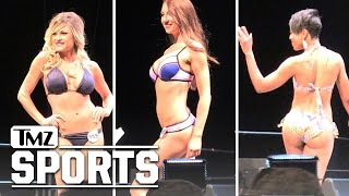 LA Rams Cheerleaders- Hot Bikini Showdown At Final Tryouts | TMZ Sports