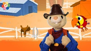 Harry the Cowboy!   Learning New Words   Vocabulary for Kids   Learn with Harry & Larry   BabyFirst