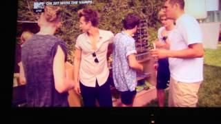 The Vamps - Somebody To You BTS (Part 1)