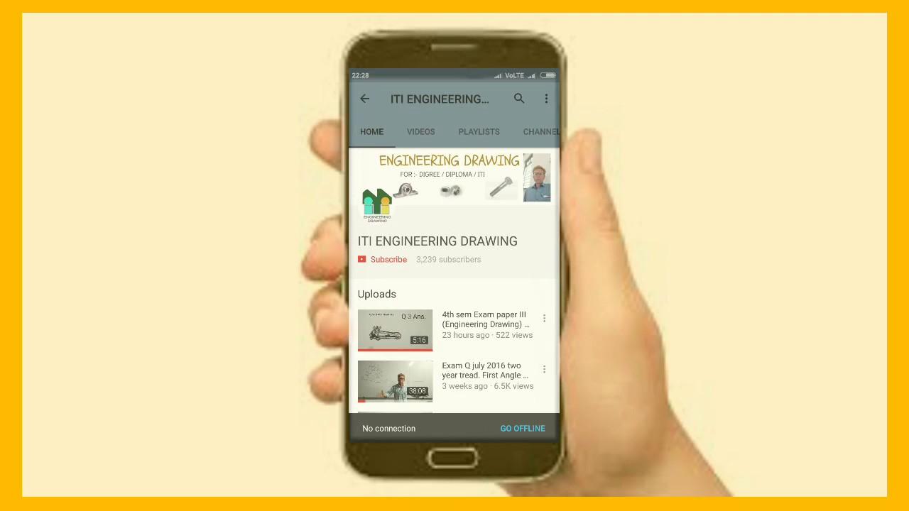 3rd Sem Engineering Drawing Pepar Iii 2 August 17 Youtube