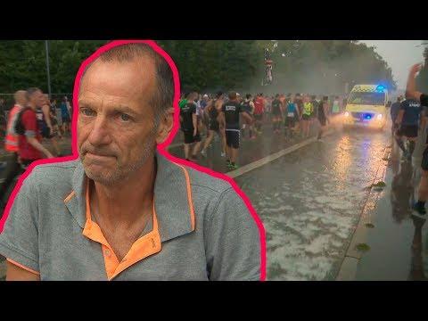 Han blev ramt af lynet  CPH Half Marathon 2017