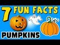 7 FUN FACTS ABOUT PUMPKINS! FACTS FOR KIDS! HALLOWEEN! CANDY! Learning Colors PUMKINS Pie Chocolate!