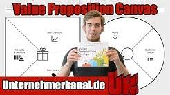 Das PERFEKTE Produkt! Value Proposition Canvas auf Deutsch mit Beispielen erklärt