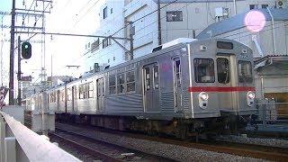 東急池上線7700系7906F五反田行き 御嶽山駅発車