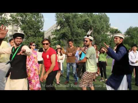 Pakistani guys chilling at Beijing language and cultural university