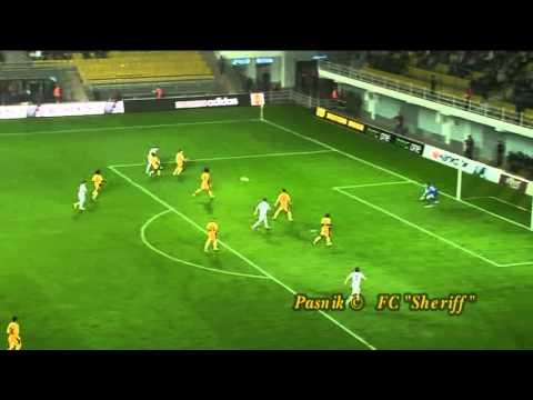 Нарезка. Лига Европы, Шериф - Анжи, 0-0, 19.09.2013