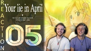 SOS Bros React - Your Lie In April Episode 5 - This Show is Going to Break Me...