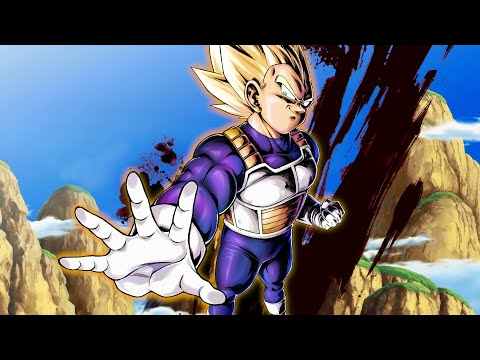 Super Saiyan Vegeta Is Ridiculous Now || Dragon Ball Legends